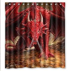 SANMOU Custom Red Fire Dragon Shower Curtain Waterproof P... https://www.amazon.com/dp/B016W1TIG2/ref=cm_sw_r_pi_dp_x_nUpgAbKXC54FY