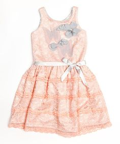Blush Pink Butterfly Dress - Toddler & Girls by Trish Scully Child