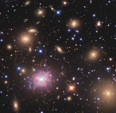Searching for Large-Scale Structures in the Universe 4/1/15 Ngc1275