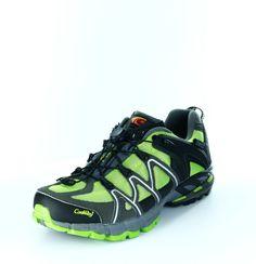 Mit diesen sportlichen Modellen hast du bestimmt mehr Freude am Laufen als zuvor. Dank des ausgeklügelten Schnellschnürsystems musst du keine lästigen Schnürsenkel mehr binden und dank des tiefen Profils hast du auch auf nassen Wegen immer einen guten Halt. ConWay, Damen Sportshuhe – Slade – black lime; Jetzt in 360° Ansicht, nur bei PLAZA51!