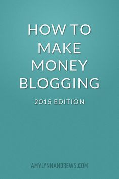 Ever wonder how to make money blogging? Learn all about blogging for money in this comprehensive and up-to-date guide.