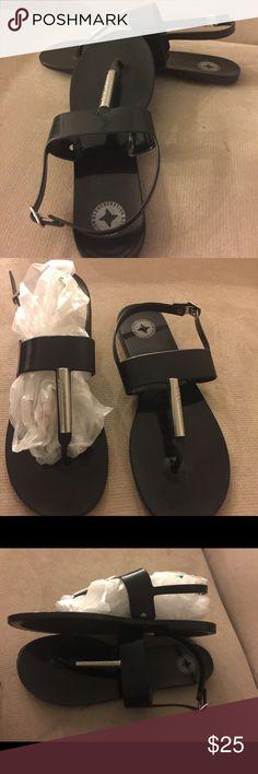 BCBGeneration Sandal, size 9. BCBC generation black sandal? Great condition.👣👣👣👣 BCBGeneration Shoes Sandals