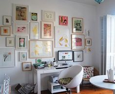 ¡Una pared así decorada en tu casa! Puedes imprimir la imagen o foto que quieras sobre increíbles materiales con nosotros sin la necesidad de comprar costosos marcos!! --> www.insta-arte.com.mx