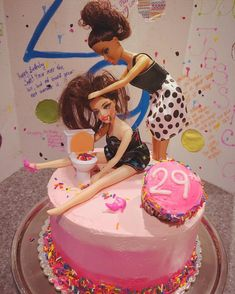 19 drunk Barbie cakes that will make you glad you have to stay in with the kids . - 19 drunk Barbie cakes that will make you glad you have to stay in with the kids – – - Alcohol Birthday Cake, Barbie Birthday Cake, Alcohol Cake, Funny Birthday Cakes, 21st Birthday Cakes, Funny Cake, Birthday Cakes For Women, 21 Birthday Gifts, 21st Bday Ideas