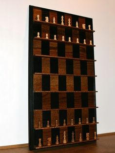 9 Bizarrely Beautiful DIY Chess Sets - Popular Mechanics. Create if I ever make…