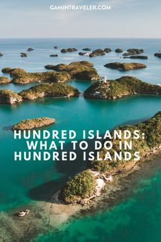 Hundred Islands Natural Park in Pangasinan the Philippines # hundredislands via Island Travel, Lopez Island, Batanes, One Day Tour, Natural Park, Philippines Travel, Day Tours, Places Around The World, Wonderful Places