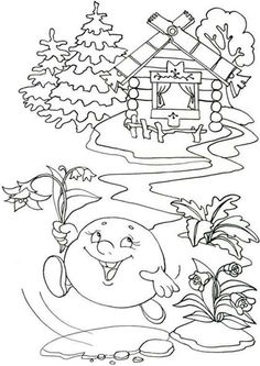 Maya The Bee On Flower Coloring Pages For Kids Printable Free