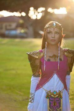 Amazing Princess Zelda cosplay