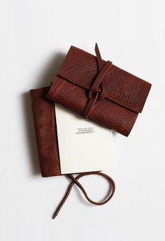 Profound Aesthetic Genuine Leather Journal at http://profoundco.com/collections/leather-journals
