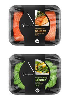 Private Brand Identity and Packaging Design Salad Packaging, Food Box Packaging, Food Packaging Design, Packaging Design Inspiration, Frozen Food Delivery, Sport Food, Vegetable Packaging, Supermarket Design, Food Labels