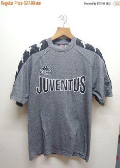 29ed4417289d98 Vintage 90 s Juventus Football Fan Club Jersey Sport Kappa Street Wear Swag  Hip Hop Top Tee Punk Rock Size L