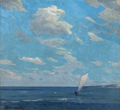 Off Duneland Shores, 1935-50 by Frank V. Dudley from Indiana State Museum