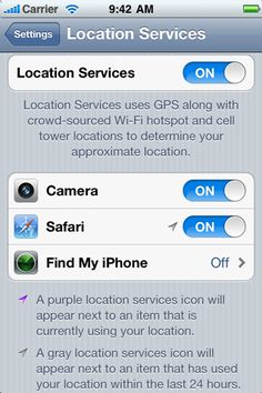 iphone 5 location tracking app