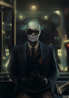 Resultado de imagen para metal gear solid v tpp fanart skull face