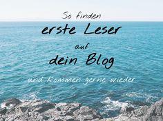 So machst du erste Leser auf dein #Blog aufmerksam: #SEO, Content Marketing & soziale Medien erfolgreich nutzen