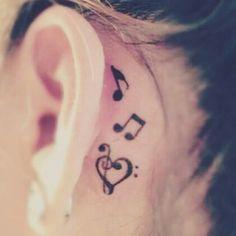 Music notes tattoo music tattoo ideas 70 Pretty Behind the Ear Tattoos Trendy Tattoos, New Tattoos, Body Art Tattoos, Small Tattoos, Tattoos For Women, Cool Tattoos, Awesome Tattoos, Tatoos, Sleeve Tattoos