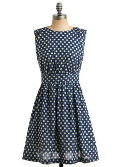 I can just see it a few years from now...making dinner with a cute apron on, maybe a kid or two running around and this fabulous 50's inspired dress on with pearls...love!