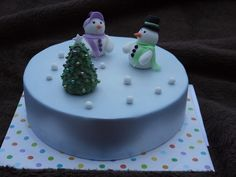 Christmas Cakes - St.Maries Nursery 016 by Cakes By Ade (from Ade's Piccies), via Flickr