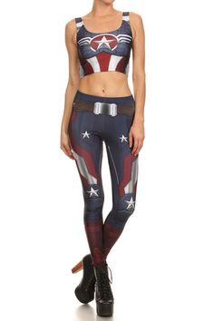 Cap'n Murica Leggings