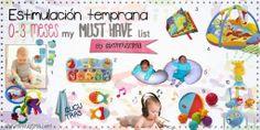 actividades estimulacion temprana bebes 0 a 3 meses by mimuselina