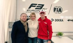 """Jean Todt a Twitteren: """"It's good to be at #Silverstone with Corinna and Mick. It reminds me of great times.@schumacher https://t.co/NuBvpJm7qv"""""""