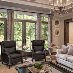 Family Room - Providence Plantation Project - Lauren Nicole Designs - Interior Design in Charlotte, NC