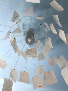 Display Ideas, Origami, Arch, Branding, Diy Crafts, House Design, Ceiling Lights, Studio, Lighting