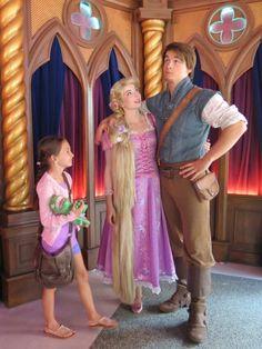 Rapunzel and Eugene