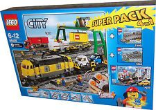 Lego® 66405 Güterzug Superpack = 7939+7937+7499+7895 NEU+OVP Lego For Sale