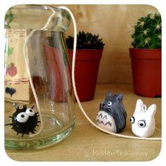 Totoro Clay ornaments