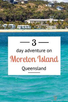 Bucket list Australia - 3 days on Moreton Island, Queensland, Australia. Visit our blog for more fun things to do on Moreton!