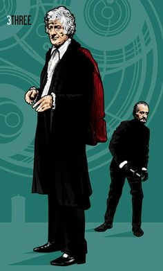 DOCTOR 3 - Jon Pertwee AND THE MASTER