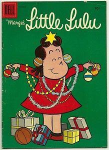 Little Lulu christmas comic
