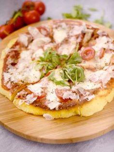 Pizza à la poêle express - Recette de cuisine Marmiton : une recette