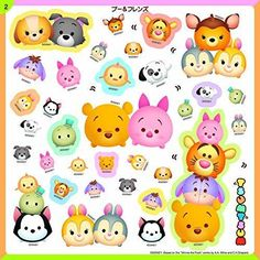 2015-Disney-TSUM-TSUM-Sticker-Mini-Book-500-pcs-Stickers-from-JAPAN