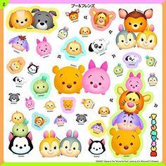 2015-Disney-TSUM-TSUM-Sticker-Mini-Book-500-pcs-Stickers-from-JAPAN