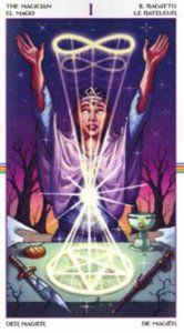 The Magician - The Wheel of the Year Tarot is one of my favorite decks to recommend to newbie #tarot readers.