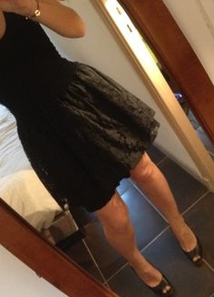 A vendre sur #vintedfrance ! http://www.vinted.fr/mode-femmes/petites-robes-noires/19466624-robe-de-soiree-noir-tulle