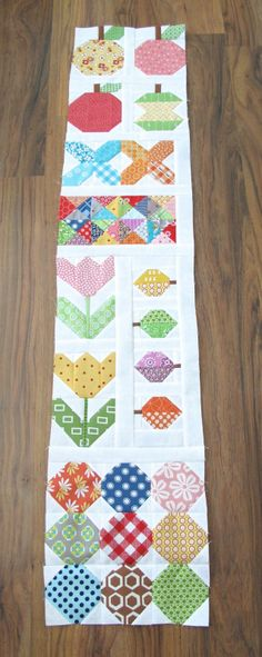 Bee In My Bonnet: The Quilty Fun Sew Along - Week 14 - Neighborhood Houses!!! ...Sashing for the left side