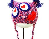 Crochet Hat Lady Love Monster