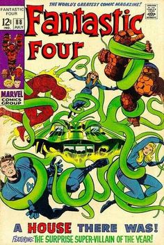 Fantastic Four # 88 by Jack Kirby & Joe Sinnott