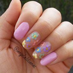 Flowers in pastels
