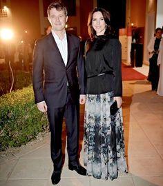 2016--Farewell reception - Saudi Arabia visit of Princess Mary & Prince Frederik