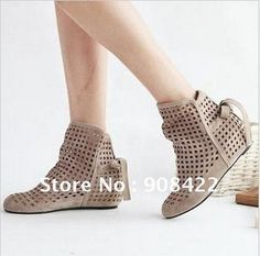 Womens Gladiator Hollow Out Low Heels Roma College Sandals Shoes Ankle Boots  NC c5ea9069631