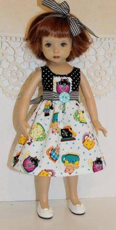 Spring-Fever-Collection-Kitties-in-Teacups-fits-13-Effner-Little-Darling