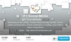 Fotos Twitter de portadas de IF3 SocialMedia