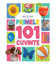 Primele 101 cuvinte. Bebe invata Word Building, Building Toys, Early Learning, Fun Learning, Word Board, One Word, Colorful Pictures, Words, Children