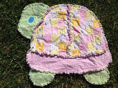 Blue turtle rag quilt ~ Blue Sheep Boutique ~ www.etsy.com/shop ... : turtle rag quilt - Adamdwight.com