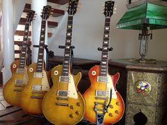 Joe Bonamassa's vintage Les Pauls.. do you know which one is Greenie?