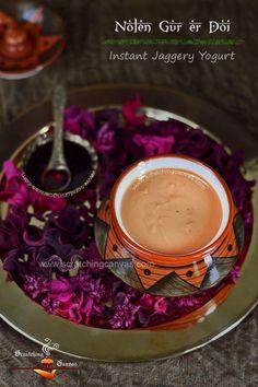 Nolen gur er Mishti Doi Recipe Food Photography